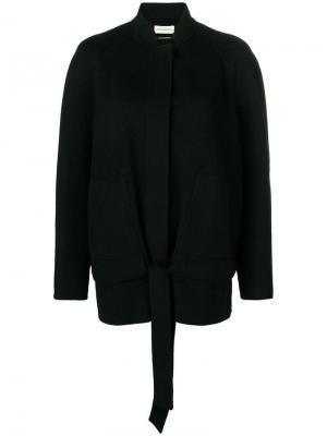 Avian coat By Malene Birger. Цвет: черный