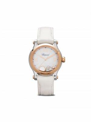 Наручные часы Happy Sport 30 мм Chopard. Цвет: белый