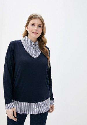 Пуловер Rosa Thea. Цвет: синий