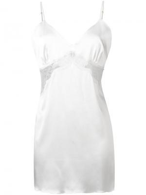 Укороченная комбинация Gilda & Pearl. Цвет: белый