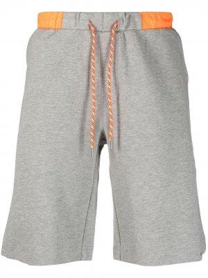 Спортивные шорты из джерси Sun 68. Цвет: серый