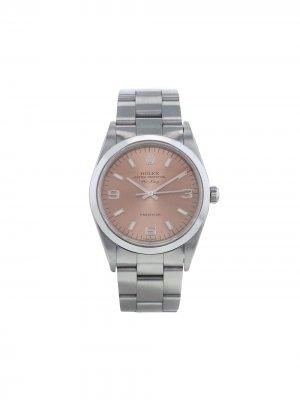 Наручные часы Air-King Precision pre-owned 34 мм 1997-го года Rolex. Цвет: розовый