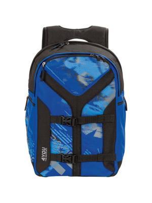 Рюкзак 4YOU ОКЕАН. Цвет: синий