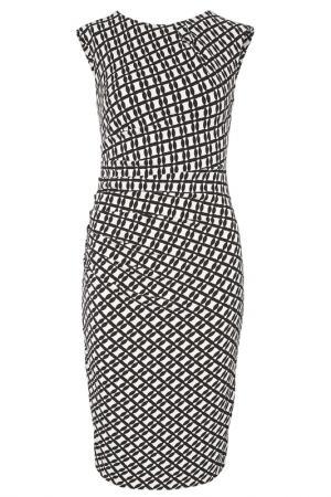 Платье из джерси Apart. Цвет: черный