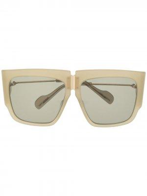 Солнцезащитные очки в квадратной оправе Ports 1961. Цвет: нейтральные цвета