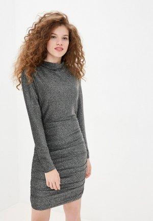 Платье Twist & Tango. Цвет: серебряный