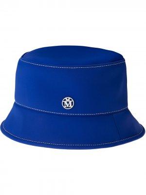 Панама Axel с логотипом Maison Michel. Цвет: синий