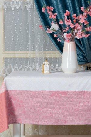 Скатерть 160х220 ARYA HOME COLLECTION. Цвет: розовый