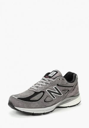 Кроссовки New Balance. Цвет: серый