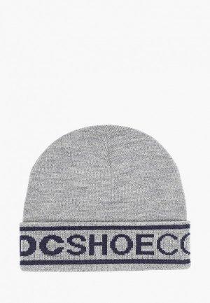 Шапка DC Shoes. Цвет: серый