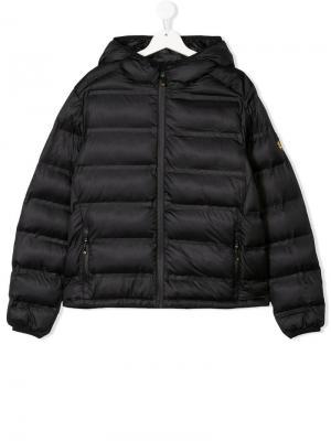 Дутая куртка с застежкой на молнии Ciesse Piumini Junior. Цвет: синий