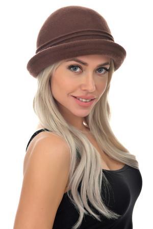 Шляпа Tonak. Цвет: коричневый