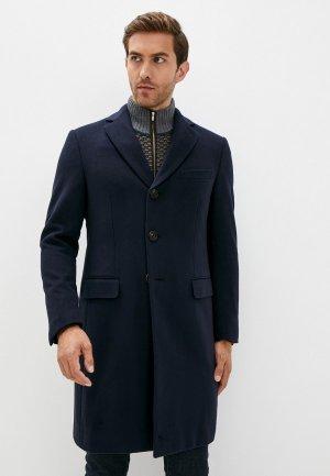 Пальто Pal Zileri. Цвет: синий