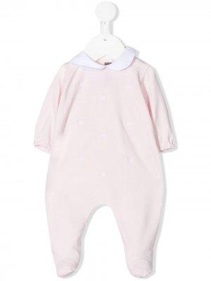 Пижама с вышивкой Little Bear. Цвет: розовый