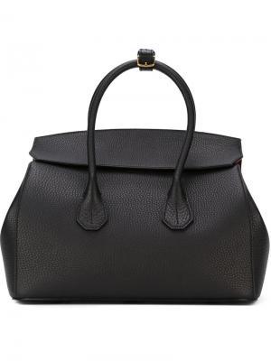 Большая сумка-тоут Bally. Цвет: чёрный