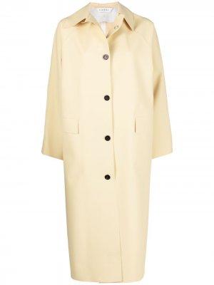 Пальто Original Below Rubber KASSL Editions. Цвет: желтый