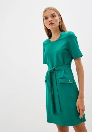 Платье Blugirl Folies. Цвет: зеленый