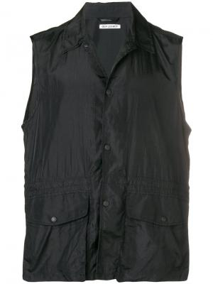 Press stud cargo vest Our Legacy. Цвет: черный