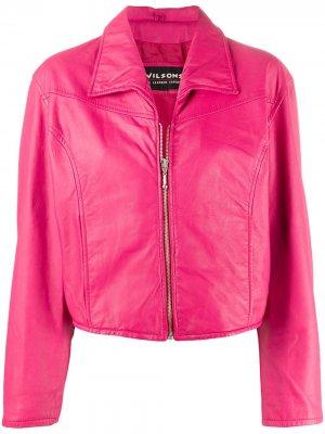 Куртка 1990-х годов со срезанным воротником A.N.G.E.L.O. Vintage Cult. Цвет: розовый