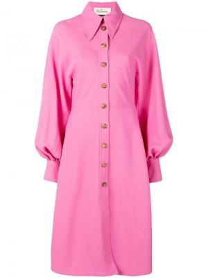 Oversized shirt dress Mulberry. Цвет: розовый