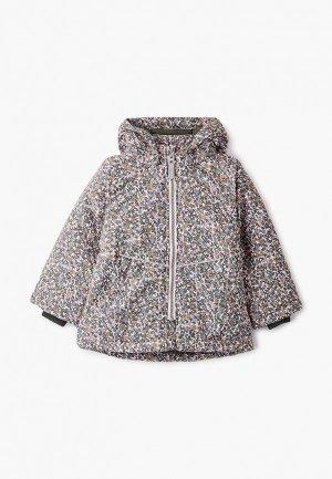 Куртка утепленная Name It. Цвет: розовый