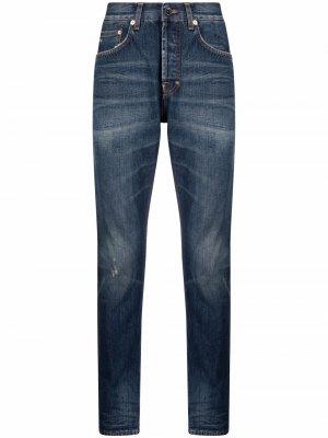 Прямые джинсы средней посадки Prps. Цвет: синий