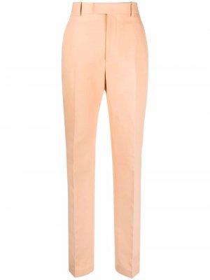 Прямые брюки Bottega Veneta. Цвет: оранжевый