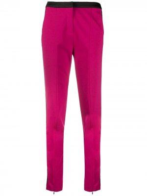 Брюки Punto с логотипом Karl Lagerfeld. Цвет: розовый