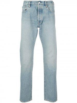 Зауженные джинсы средней посадки Simon Miller. Цвет: синий