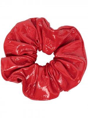 Блестящая резинка для волос Manokhi. Цвет: красный