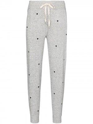 Спортивные брюки Oakland с вышивкой Rails. Цвет: серый