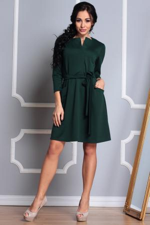 Платье Laura Bettini. Цвет: изумрудный