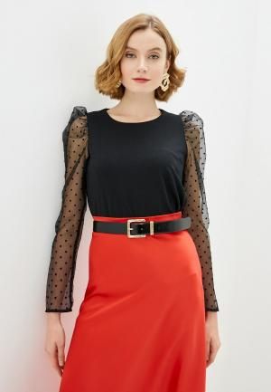 Блуза Zarina. Цвет: черный