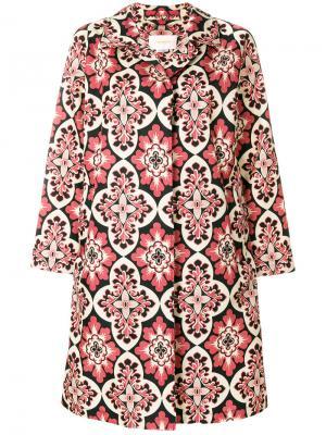 Пальто Nylon Loden Palazzo La Doublej. Цвет: розовый