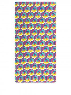 Набор из шести салфеток La Doublej. Цвет: розовый