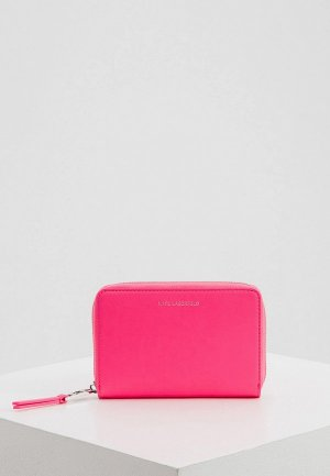 Кошелек Karl Lagerfeld. Цвет: розовый