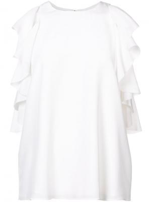 Ruffled blouse Alexis. Цвет: белый