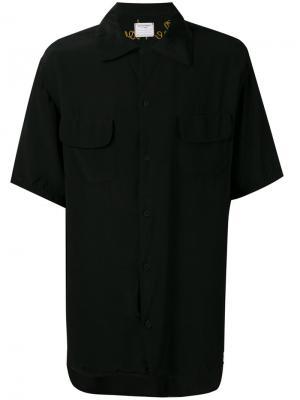 Рубашка с вышивкой Santa Monica Htc Los Angeles. Цвет: чёрный
