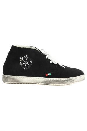 Кроссовки Alessandro. Цвет: черный