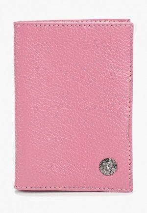 Обложка для паспорта Dimanche. Цвет: розовый