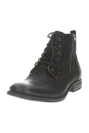 Ботинки GOERGO. Цвет: черный