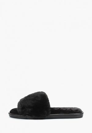 Тапочки Mon Ami. Цвет: черный