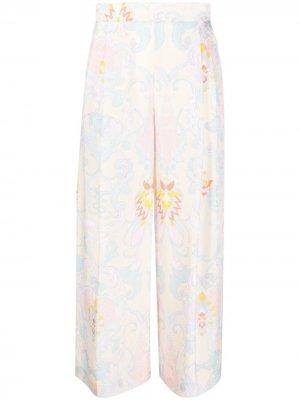 Широкие брюки с завышенной талией See by Chloé. Цвет: желтый
