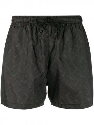 Спортивные шорты с кулиской Marcelo Burlon County of Milan. Цвет: черный