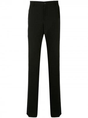 Классические брюки строгого кроя Giorgio Armani. Цвет: черный