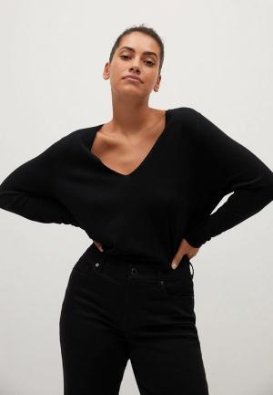 Пуловер Violeta by Mango. Цвет: черный