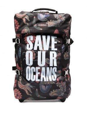 Чемодан Save our Oceans Eastpak. Цвет: черный