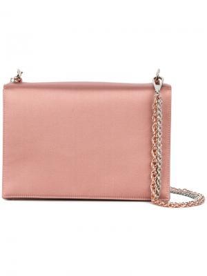 Квадратный клатч Rodo. Цвет: розовый и фиолетовый