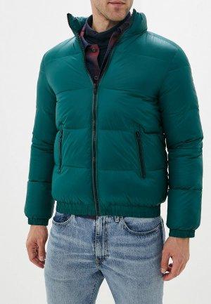 Куртка утепленная Wrangler. Цвет: зеленый