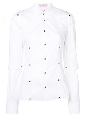 Рубашка Conquerer A.F.Vandevorst. Цвет: белый